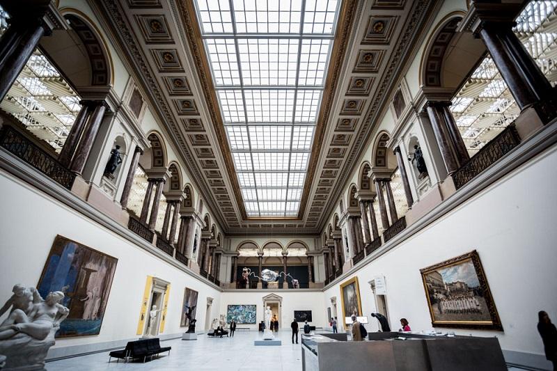 Museu Real de Belas Artes em Bruxelas