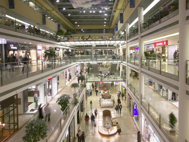 Shopping Palác Flóra em Praga