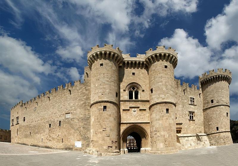 Palácio do Grão Mestre dos Cavaleiros na ilha de Rodes