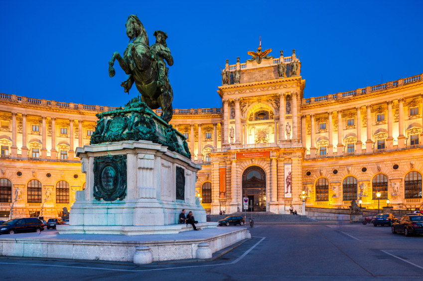 Palácio Hofburg em Viena