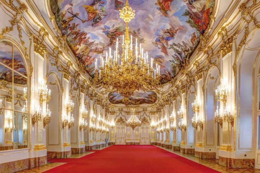 Palácio Schönbrunn em Viena