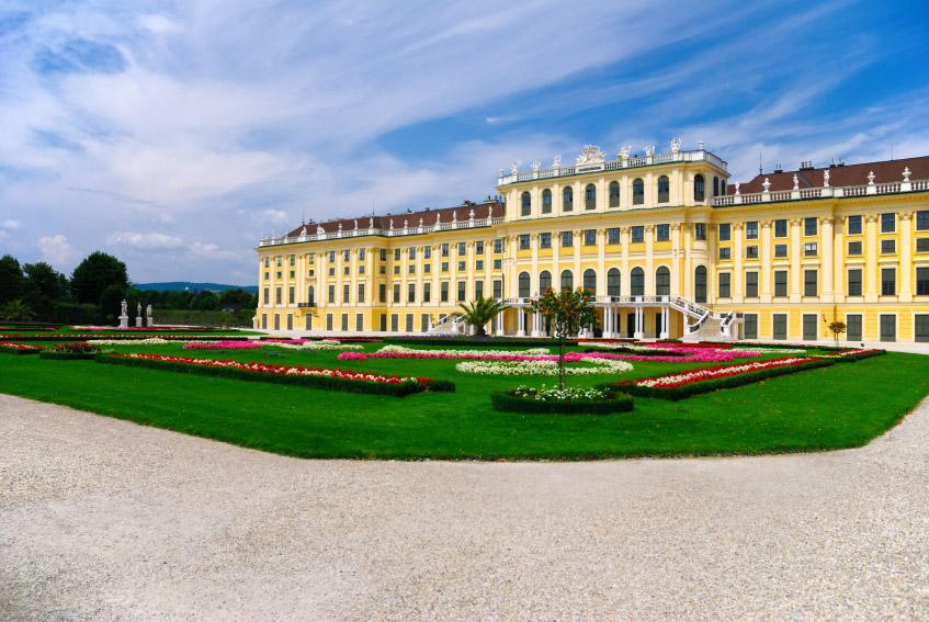 Palácio de Schonbrunn em Viena