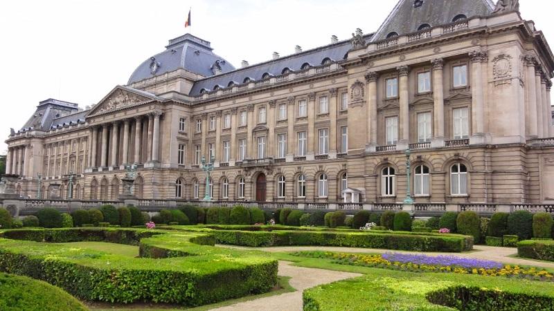 Palácio Real em Bruxelas