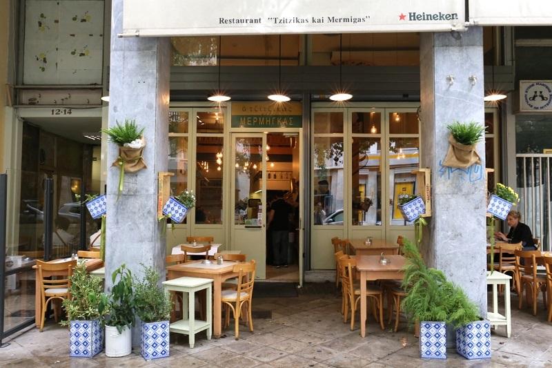 Restaurante Tzitzikas kai Mermigas em Atenas