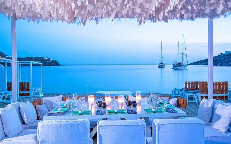 Restaurantes na ilha de Mykonos | Grécia