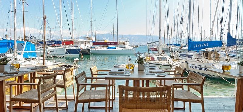 Restaurante Varoulko em Atenas