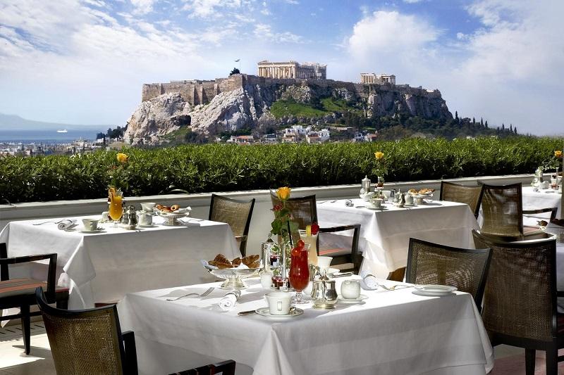 Restaurante em Atenas na Grécia