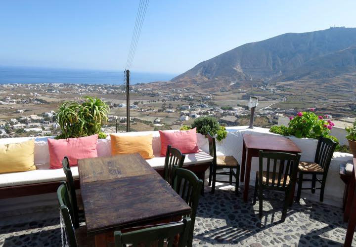 Metaxy Mas em Santorini