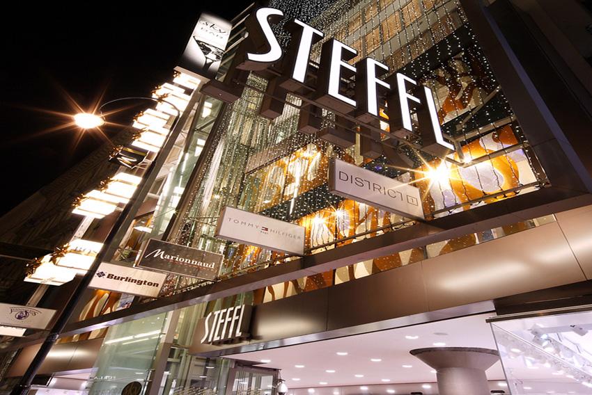 Shopping Steffl em Viena