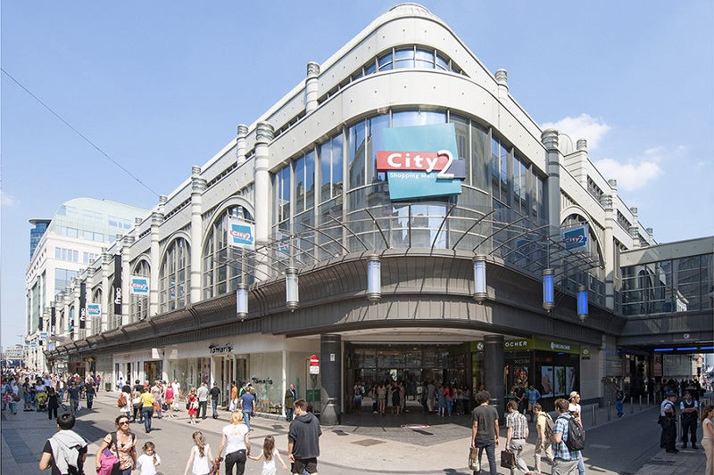 Shopping City 2 em Bruxelas