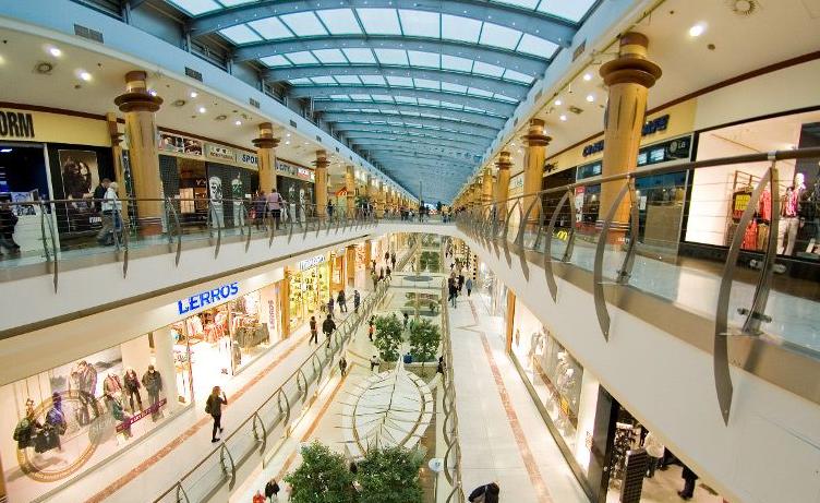 Shoppings em Praga na República Checa