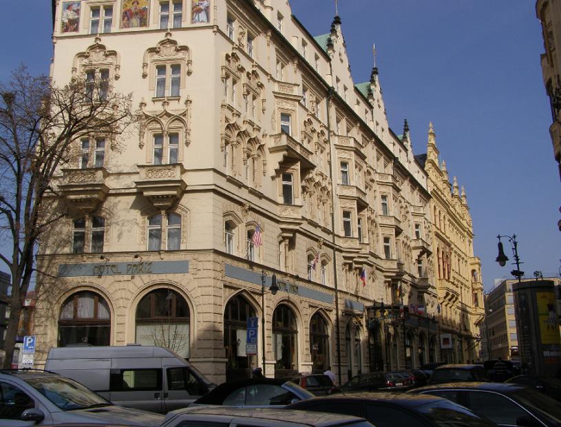 Bairro Staré Mesto na Cidade Velha em Praga