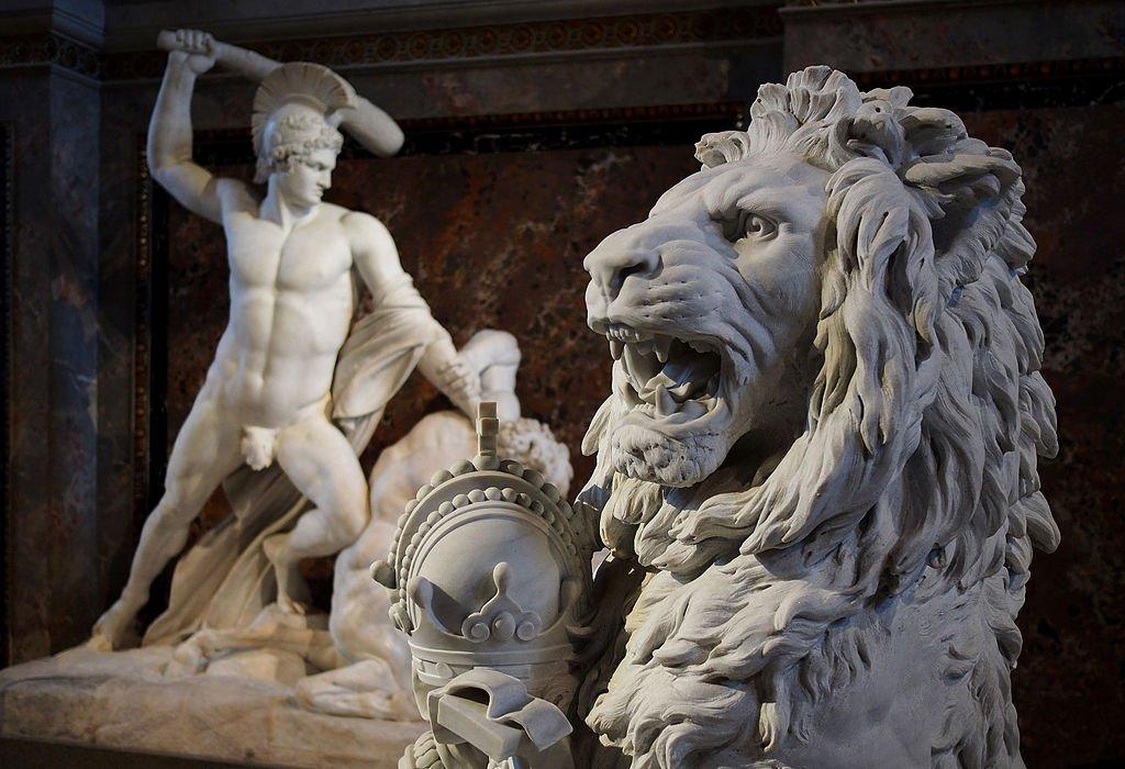 Museu da História da Arte em Viena na Áustria