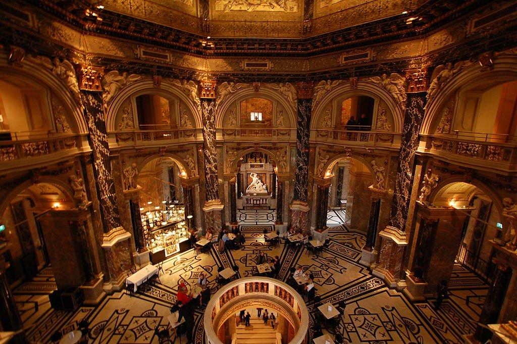 Interior do Museu da História da Arte em Viena