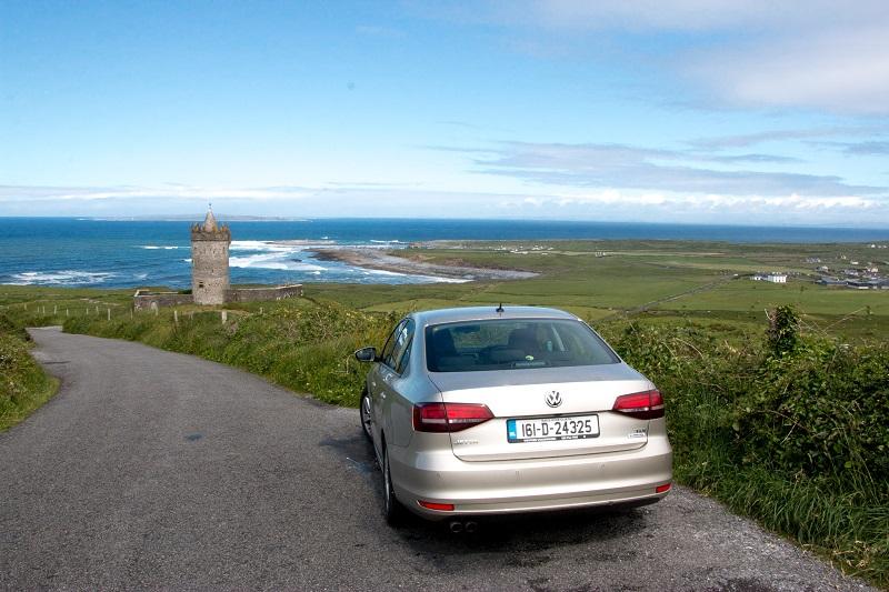 Carro na Irlanda