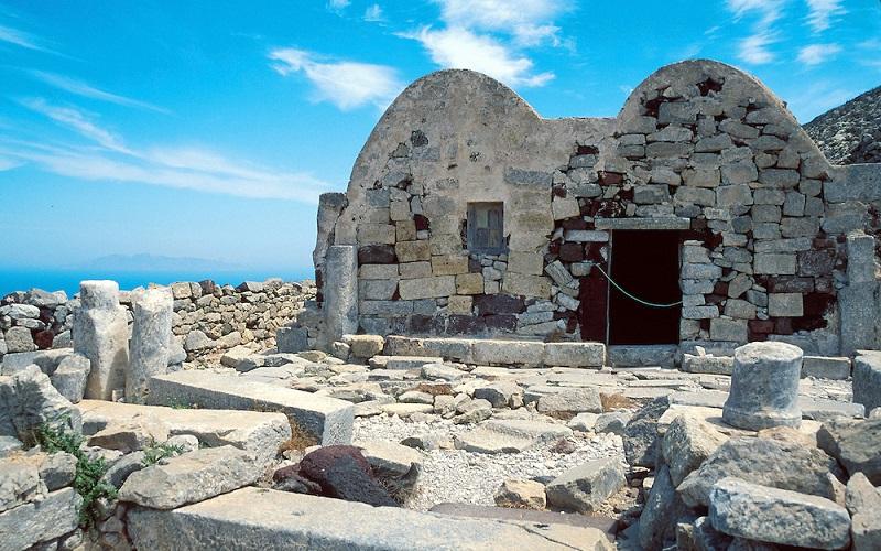 Antiga Thiraem Santorini