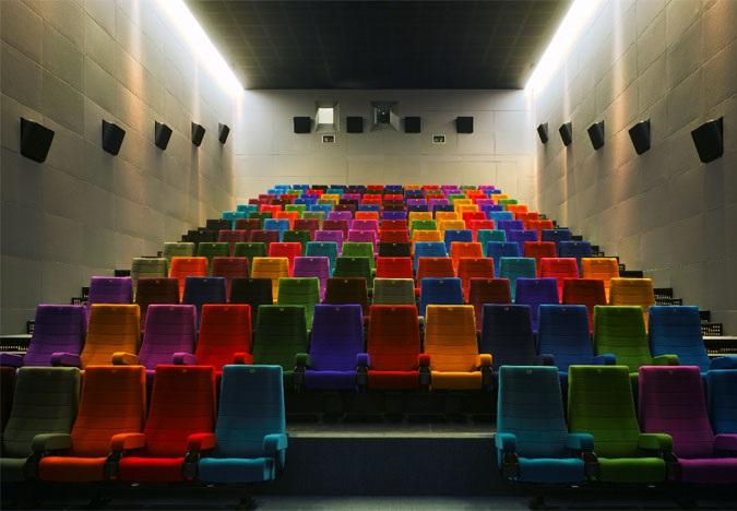 Sala de cinema em Dublin