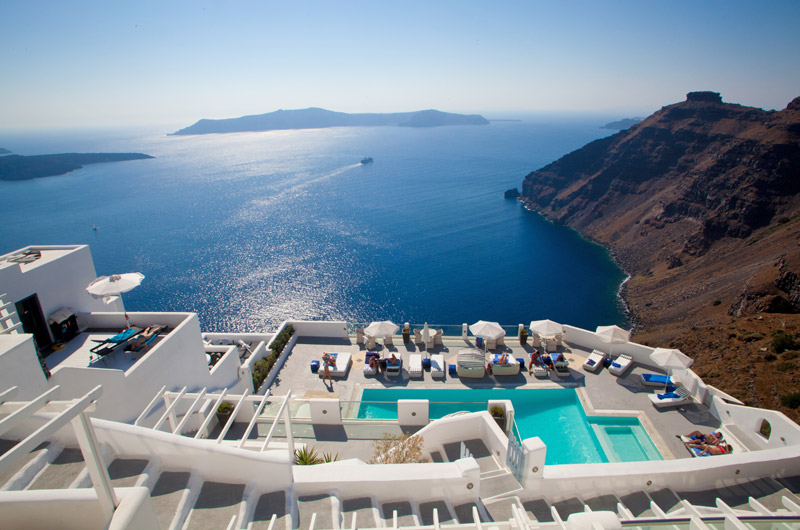 Hotel em Santorini