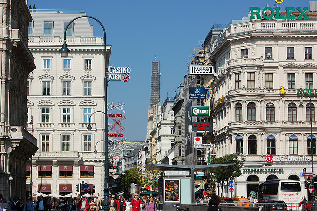 Kartner Strasse em Viena