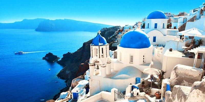 Lua de mel em Santorini na Grécia