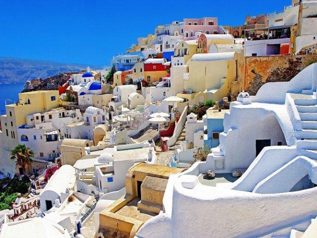 Passeios românticos em Santorini | Grécia