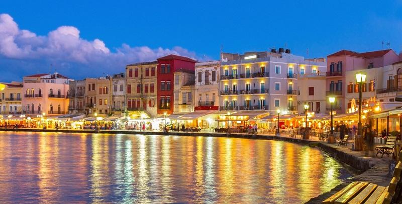 Passeios românticos em Creta na Grécia