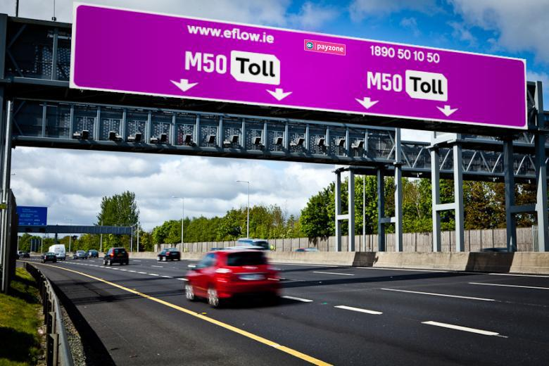 Pedágios nas estradas irlandesas