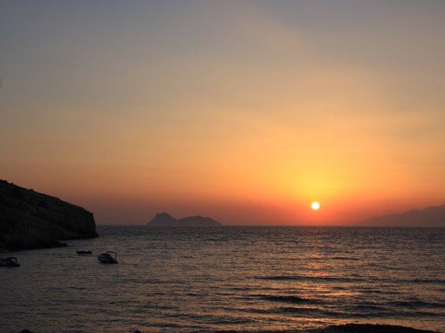 Pôr do sol em Creta | Grécia