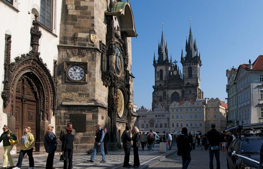 Cidade Velha em Praga