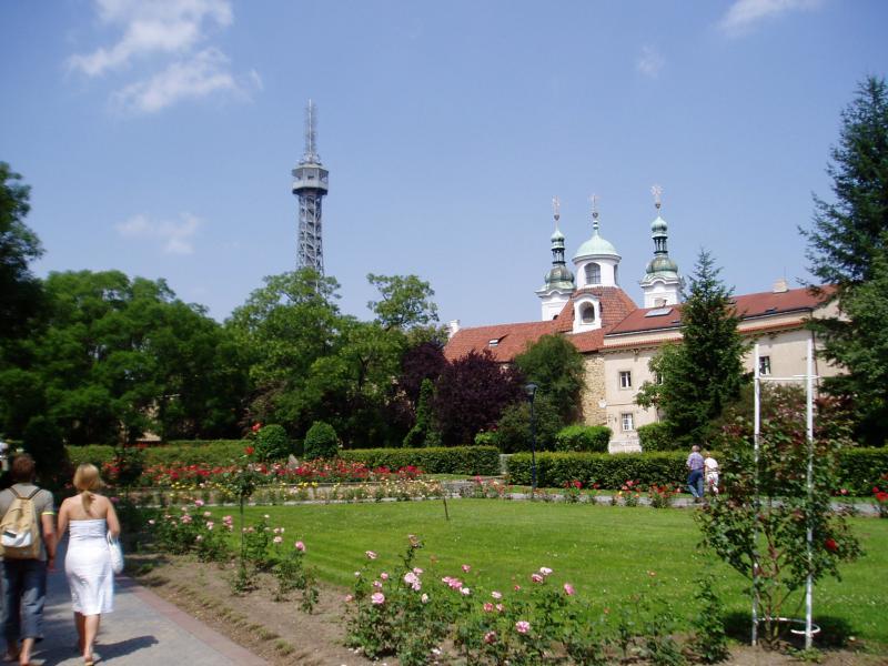 Ruas em Praga