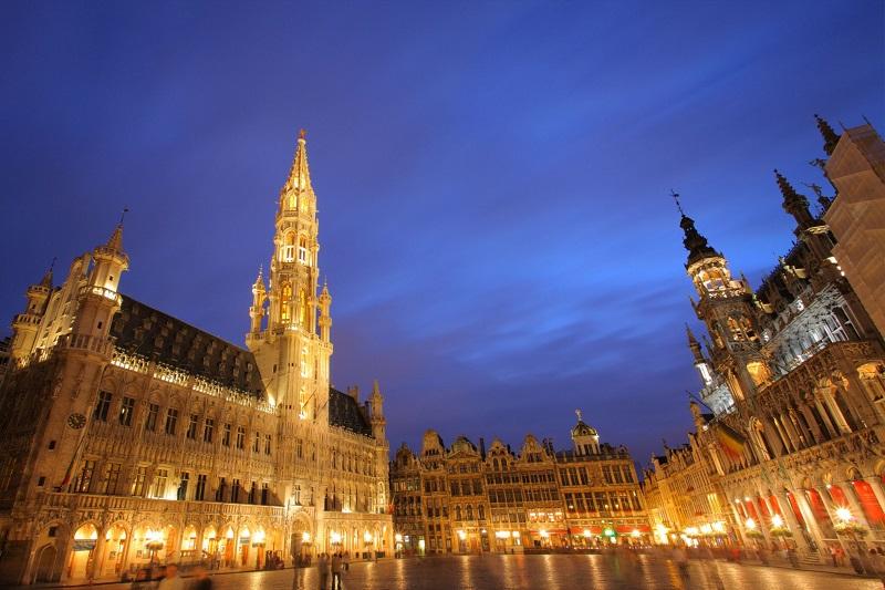 Bruxelas à noite