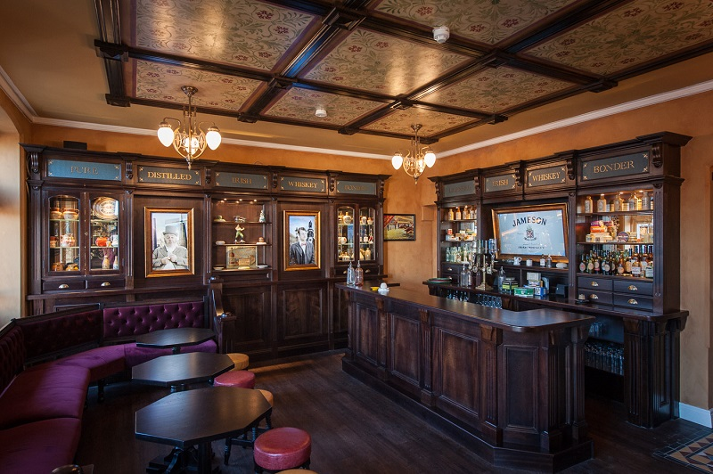 Museu do Whiskey Irlandês em Dublin