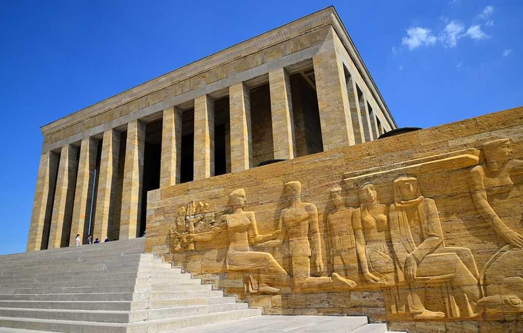 Mausoléu Atatürk na Turquia