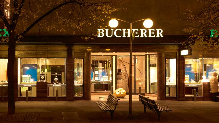 Loja de relógios Bucherer em Zurique