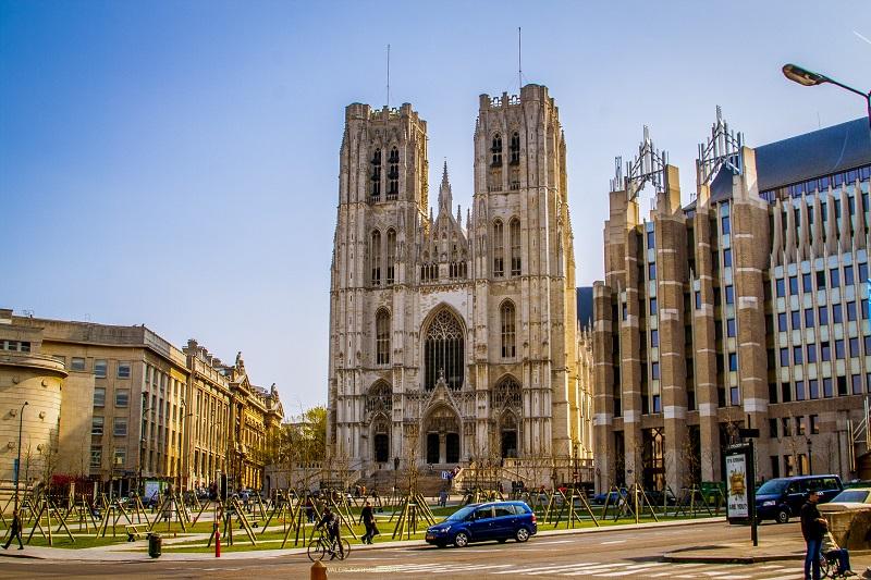 Catedral de Saint Michel et Gudule em Bruxelas