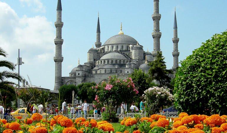 Mesquita Azul em Istambul na Turquia