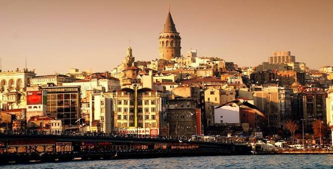 Bairro de Karakoy em Istambul