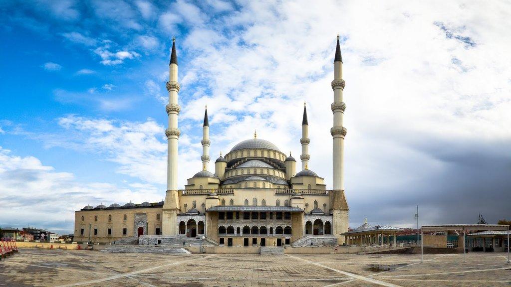 Mesquita Kocatepe na Turquia