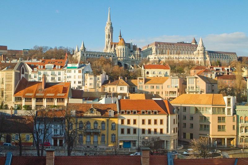 Região de Varnegyed em Budapeste