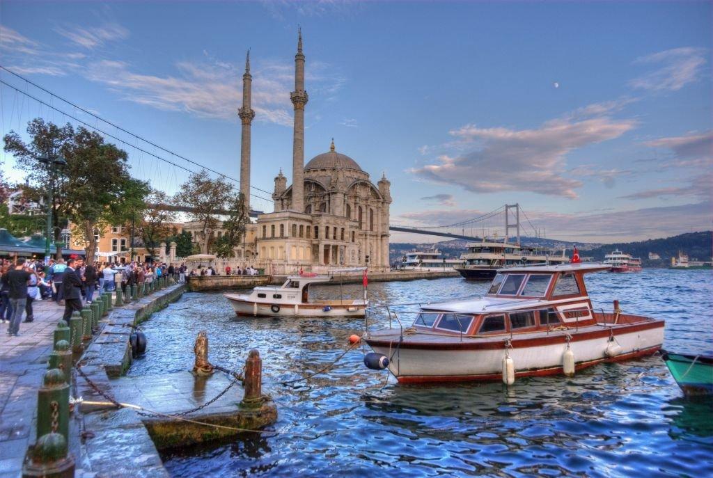 Bairro de Ortakoy em Istambul