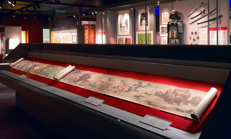 Interior da Biblioteca Chester Beatty