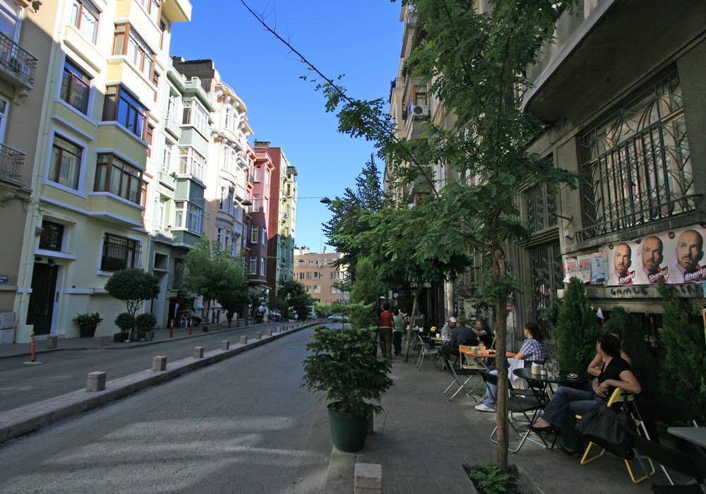Bairro de Cihangir em Istambul