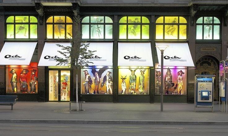 Compras em Zurique na Suíça