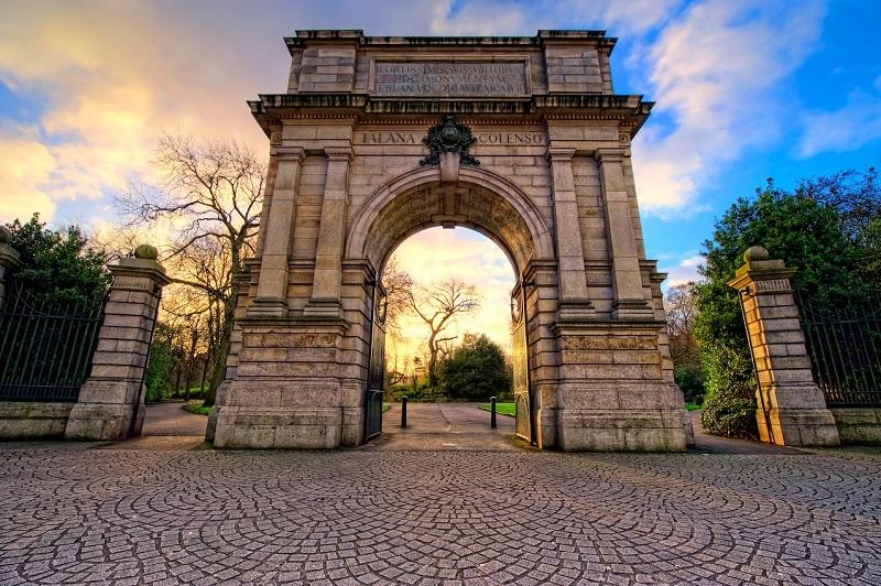 Arco Fusilier do Parque St. Stephen's Green