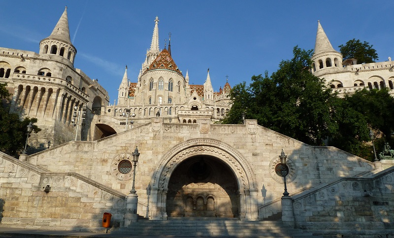 Fisherman's Bastion em Budapeste