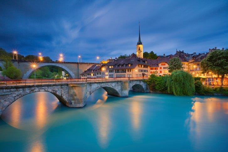 Horário de verão na Suíça