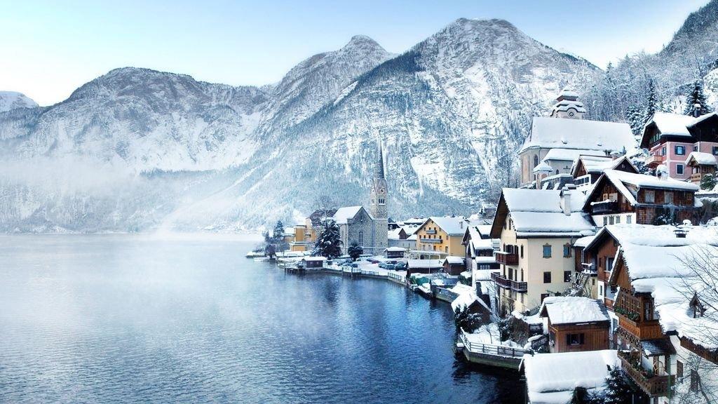 Hallstattna Áustria