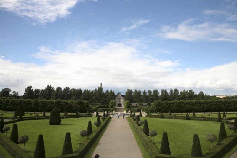 Jardim do Museu Irlandês de Arte Moderna