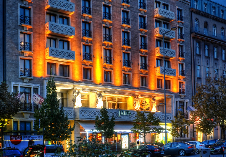 Hotel Jalta perto da Praça Venceslau em Praga