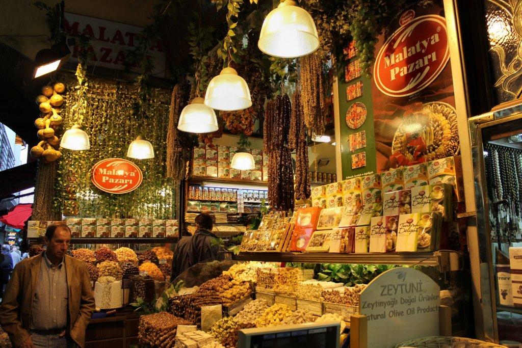 Bazar de Especiarias em Istambul